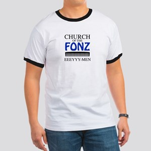 Church of the Fonz Ringer T