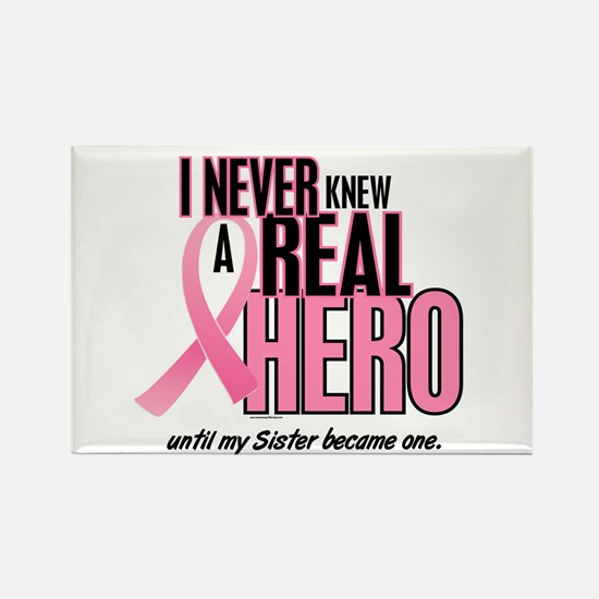 Never Knew A Hero 2 (Sister) Rectangle Magnet (10