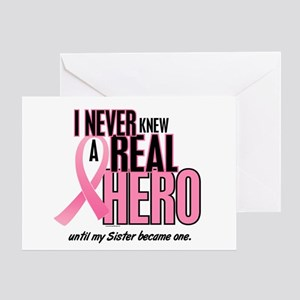 Never Knew A Hero 2 (Sister) Greeting Card