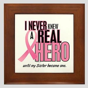 Never Knew A Hero 2 (Sister) Framed Tile