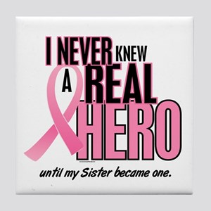 Never Knew A Hero 2 (Sister) Tile Coaster