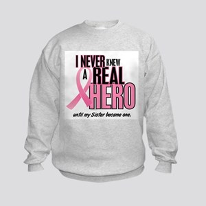 Never Knew A Hero 2 (Sister) Kids Sweatshirt