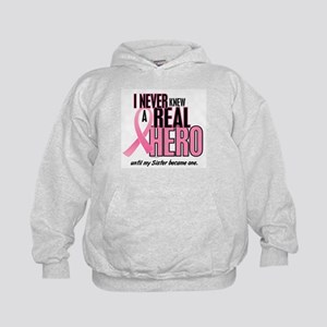 Never Knew A Hero 2 (Sister) Kids Hoodie