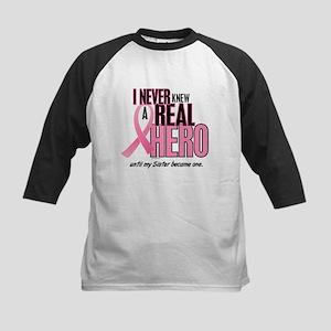 Never Knew A Hero 2 (Sister) Kids Baseball Jersey