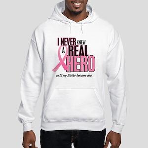 Never Knew A Hero 2 (Sister) Hooded Sweatshirt
