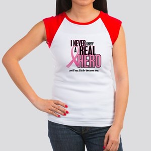 Never Knew A Hero 2 (Sister) Women's Cap Sleeve T-