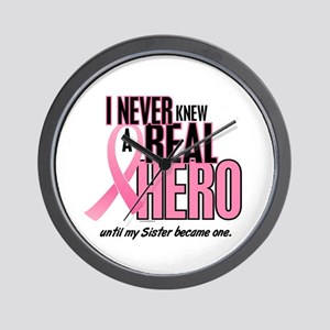 Never Knew A Hero 2 (Sister) Wall Clock
