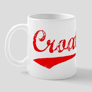 Vintage Croatia (Red) Mug