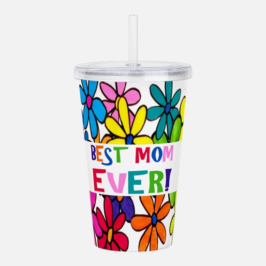 Cute First mothers day Acrylic Double-wall Tumbler