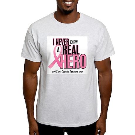Never Knew A Hero 2 (Cousin) Light T-Shirt