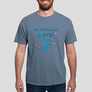 April 7th Birthday T-Shirt