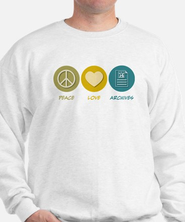 Peace Love Archives Sweatshirt