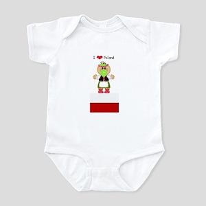 I Love Poland Infant Creeper