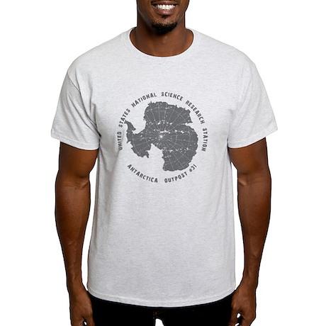 Outpost 31 on White Light T-Shirt