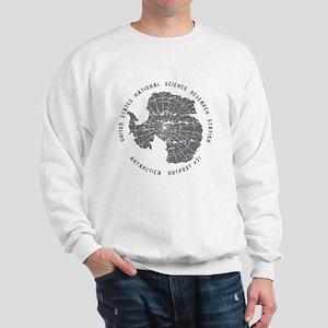 Outpost 31 on White Sweatshirt