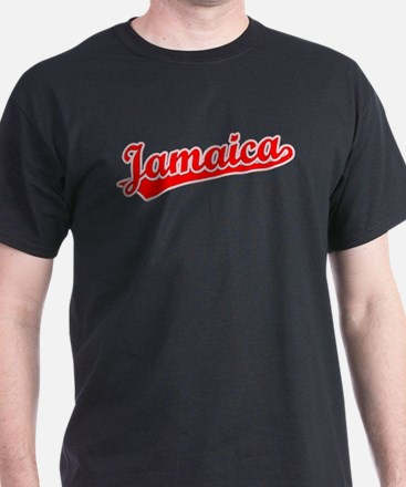 Retro Jamaica (Red) T-Shirt