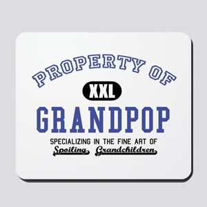 Property of Grandpop Mousepad