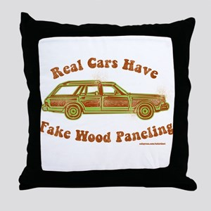 Real cars Throw Pillow