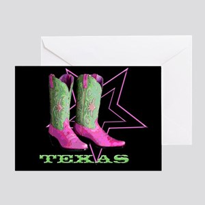 Texas Boots! Greeting Card