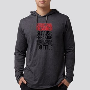 Instructional Designer Job Tit Long Sleeve T-Shirt
