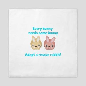 Every bunny Queen Duvet