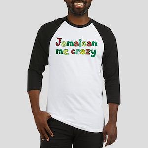 Jamaican Me Crazy Baseball Tee