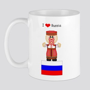 I Love Russia Mug