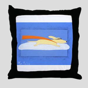 Super Dog Throw Pillow