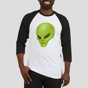Alien Face Baseball Jersey