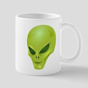 Alien Face Mugs