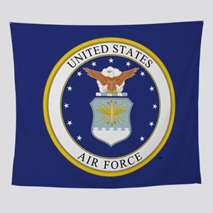 USAF Emblem Wall Tapestry