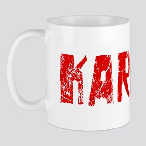 Karachi Faded (Red) Mug