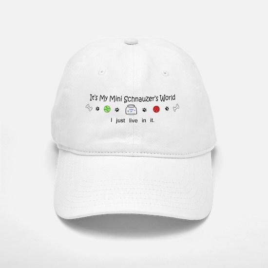 mini schnauzer Baseball Baseball Cap