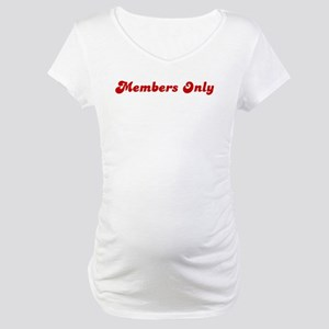 Members Only Maternity T-Shirt
