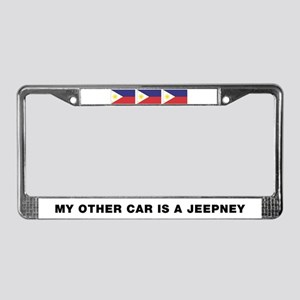 Jeepney License Plate Frame