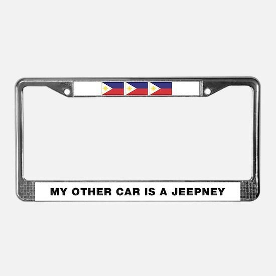 Jeepney License Plate Frame
