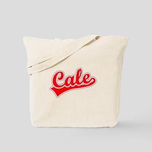 Retro Cale (Red) Tote Bag