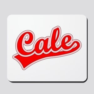 Retro Cale (Red) Mousepad
