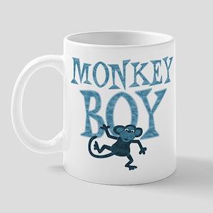 Blue Monkey Boy Mug