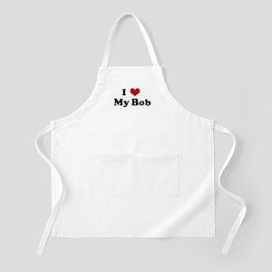 I Love My Bob BBQ Apron