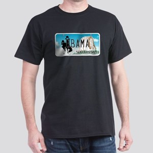 Wyoming Supports Obama Dark T-Shirt