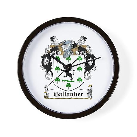 Gallagher Wall Clock