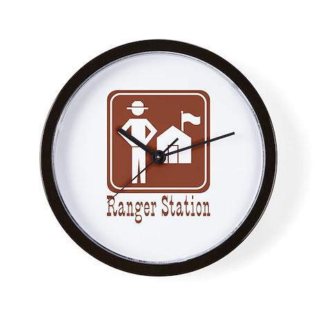Ranger Station Wall Clock