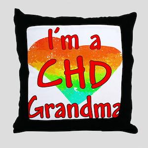 For Grandma Throw Pillow