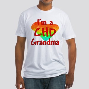 For Grandma Fitted T-Shirt