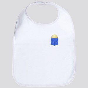 Cookie Pocket Passover Design Shirt Baby Bib