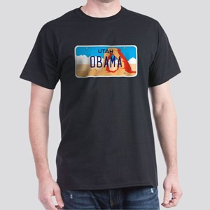 Utah Supports Obama Dark T-Shirt