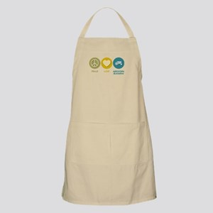 Peace Love Agricultural Business BBQ Apron