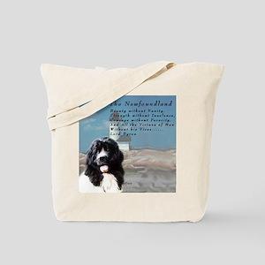 Lord Byron Newf Tote Bag