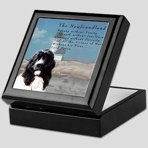 Lord Byron Newf Keepsake Box